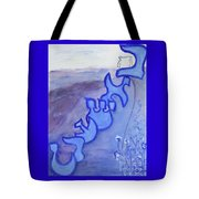 Beshert  Os22pp Tote Bag by Hebrewletters Sl