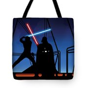 Bespin Duel Tote Bag