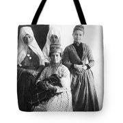Bethlehem Women In 1886 Tote Bag