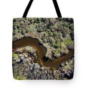 Betsie River Curve Tote Bag