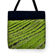 Between The Rows Tote Bag