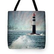 Beyond The Northern Waves Tote Bag