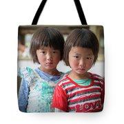 Bhutan Twins Tote Bag