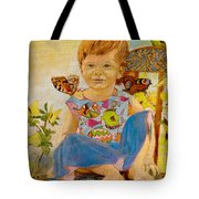 Bianka And Butterflies Tote Bag
