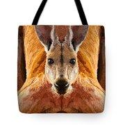 Big Boy Red Kangaroo   Tote Bag