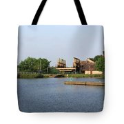Big Chute Marine Railway, Trent Severn Waterway, Ontario Tote Bag