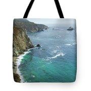 Big Sur Ocean Views Tote Bag