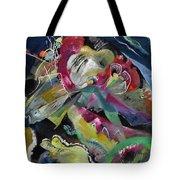 Bild Mit Weissen Linien - Painting With White Lines Tote Bag