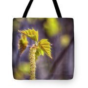 Birch Blooms Tote Bag