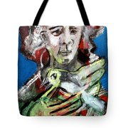 Bird And Owner Tote Bag