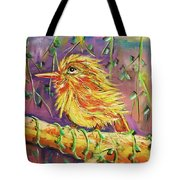 Bird In Nature Tote Bag
