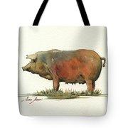 Black Iberian Pig Tote Bag