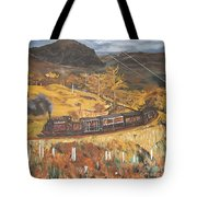 Black Mountain Tote Bag