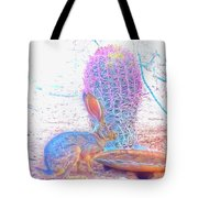 Black-tailed Jackrabbit Tote Bag