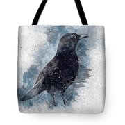 Blackbird Grunge Edition Tote Bag