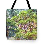Blake Garden, Berkeley Ca Tote Bag by Judith Kunzle
