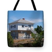 Blockhouse At Kingston Mills On The Rideau Canal Tote Bag