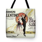 Blood And Sand, 1922 Tote Bag