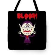 Blood Bloody Vampire Halloween Tote Bag