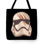 Bloody Helmet Tote Bag