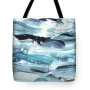 Blue #10 Tote Bag