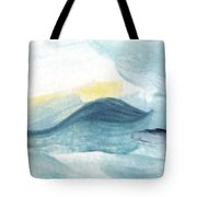 Blue #8 Tote Bag
