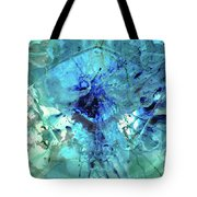 Blue Abstract Art - Heaven's Gate - Sharon Cummings Tote Bag