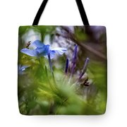Blue And Green 2 Tote Bag