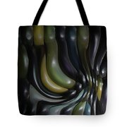 Blue And Yellow Maiz Tote Bag