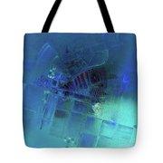 Blue Azure Tote Bag