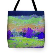 Blue Badlands Rhapsody Tote Bag