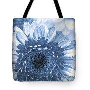 Blue Gerbera Tote Bag