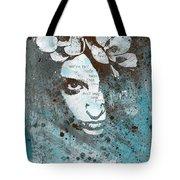 Blue Hypothermia Tote Bag
