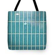 Blue Interior Tiles Tote Bag