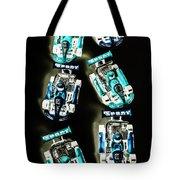 Blue Racers Tote Bag