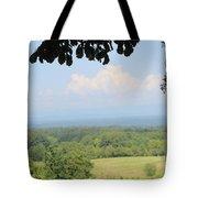 Blue Ridge Mountains And Vineyards Tote Bag