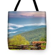Blue Ridge Parkway View Tote Bag by Ken Barrett