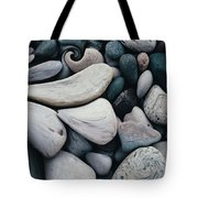 Blue Rock Garden Tote Bag