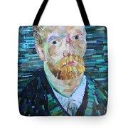 Blue Van Gogh Tote Bag