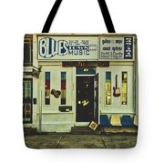 Blues Town Music Store Tote Bag