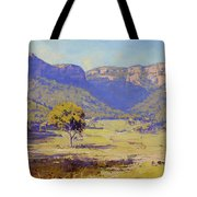 Bluffs Of The Capertee Valley Tote Bag