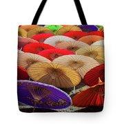 Bo Sang Umbrellas, Thailand Tote Bag