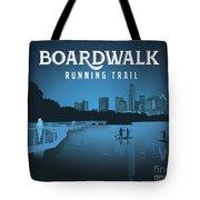 Boardwalk Running Trail Tote Bag