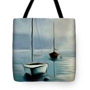 Boat Sails Tote Bag