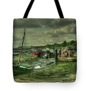 Boats At Leigh On Sea  Tote Bag