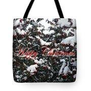 Happy Christmas 12 Tote Bag