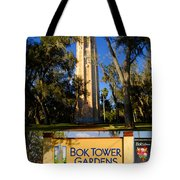 Bok Tower Gardens Poster A Tote Bag