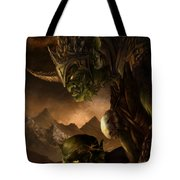 Bolg The Goblin King Tote Bag