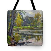 Bond Lake Park Tote Bag