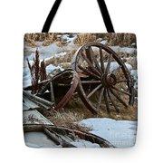 Boneyard Tote Bag by Ann E Robson